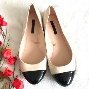 🟡2/$30 | HP**Zara | Cap toe flats